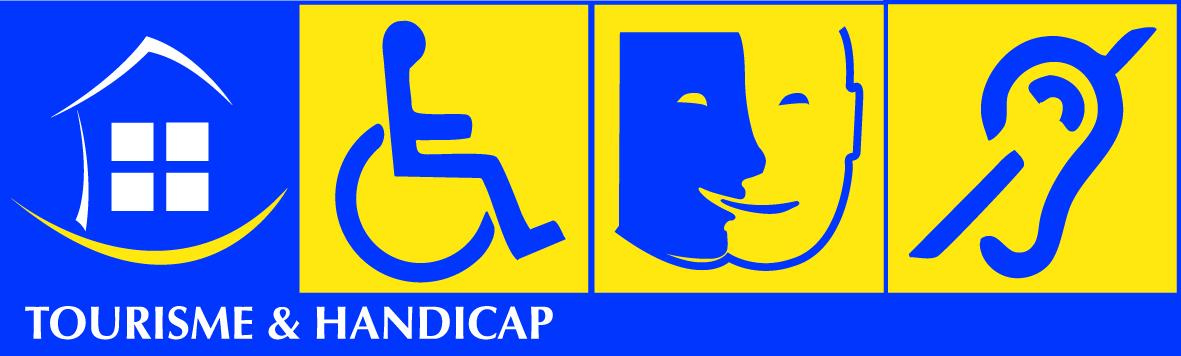Marque Tourisme et Handicap : personnes à mobilité réduite, personnes déficientes intellectuelle et personnes sourde ou malentendante