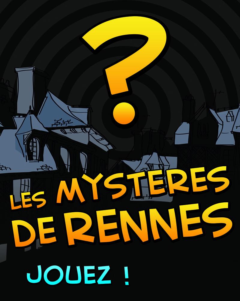 affiche mystères de Rennes