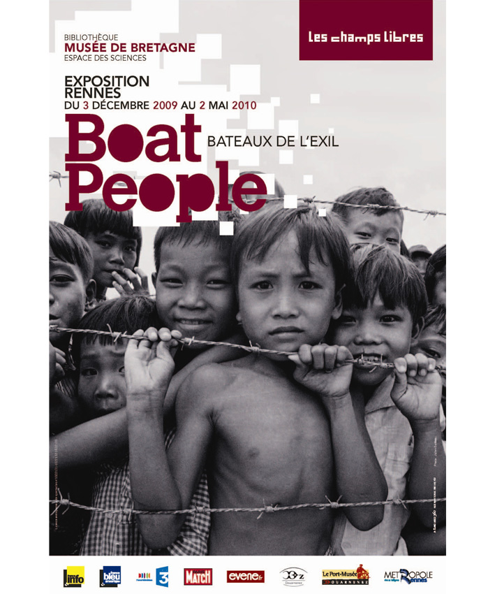 affiche exposition Boat People