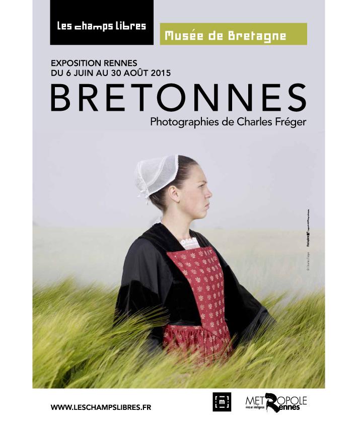 affiche exposition Bretonnes