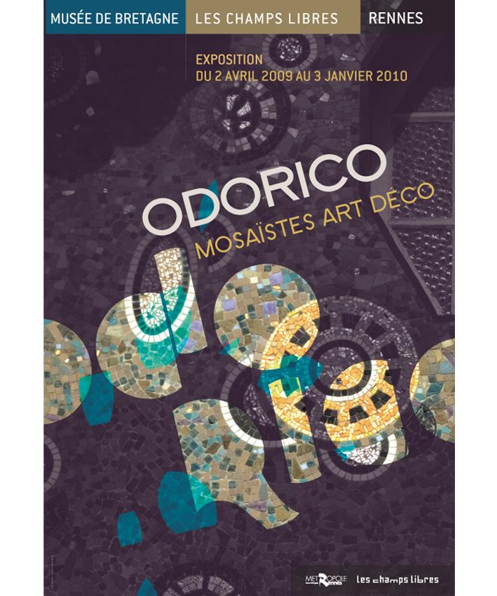 affiche exposition Odorico