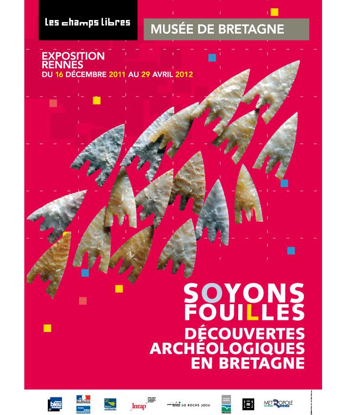 affiche exposition Soyons fouilles