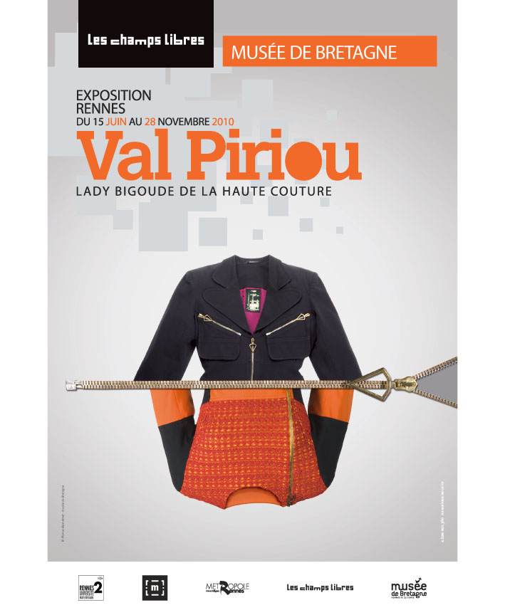 affiche exposition Val Piriou