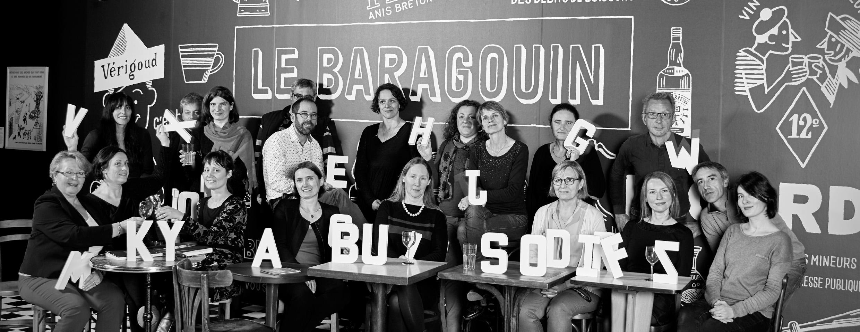 L'équipe du musée de Bretagne en 2016