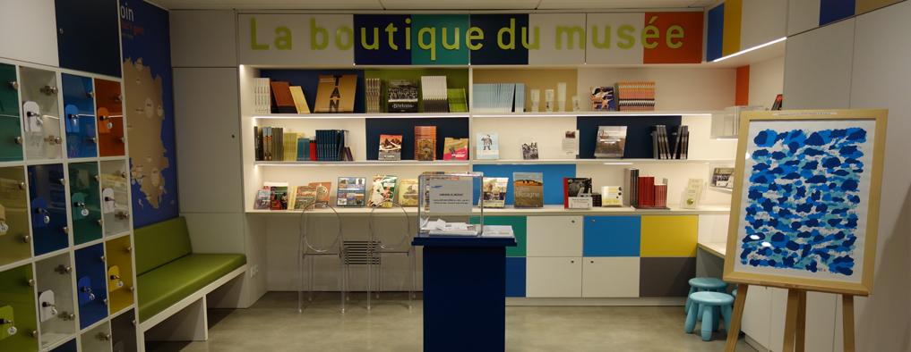 boutique du musée de Bretagne